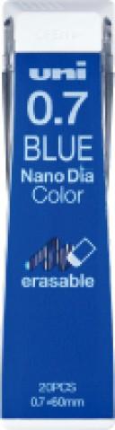Uni NanoDia Color Lead - 0.7 mm - Blue