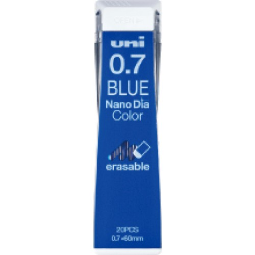 Uni NanoDia Color Lead - 0.7 mm - Blue