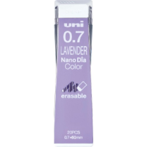 Uni NanoDia Color Lead - 0.7 mm - Lavender