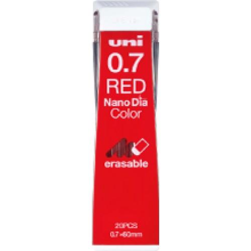 Uni NanoDia Color Lead - 0.7 mm - Red