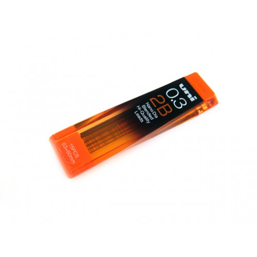 Uni NanoDia Pencil Lead - 0.3mm - 2B