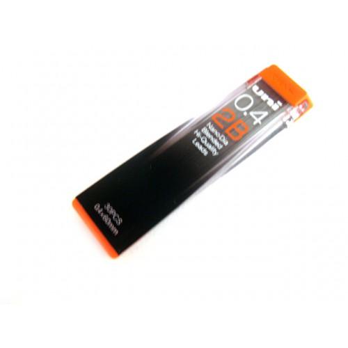Uni NanoDia Pencil Lead - 0.4mm - 2B