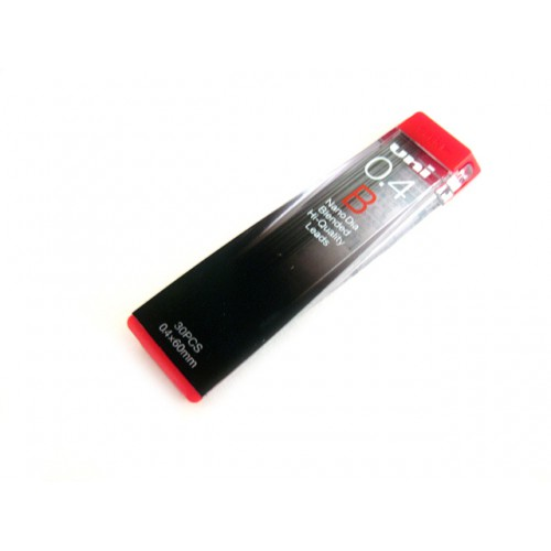 Uni NanoDia Pencil Lead - 0.4mm - B