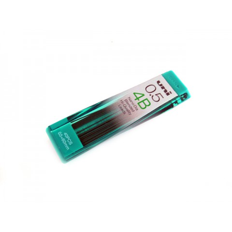 Uni NanoDia Pencil Lead - 0.5mm - 4B