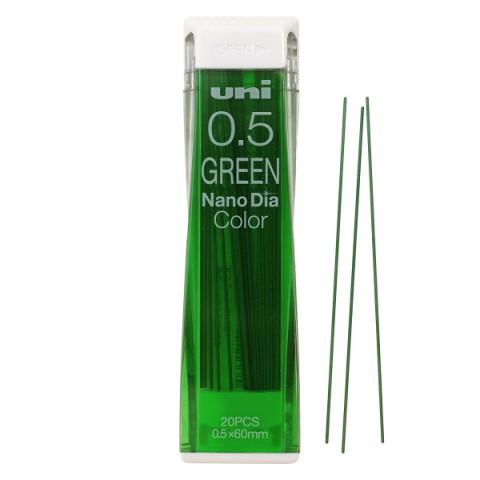 Uni NanoDia Color Lead - 0.5 mm - Green