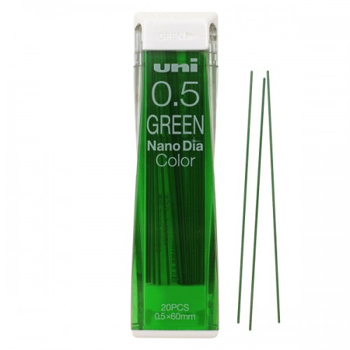Uni NanoDia Color Lead - 0.5 mm - Green