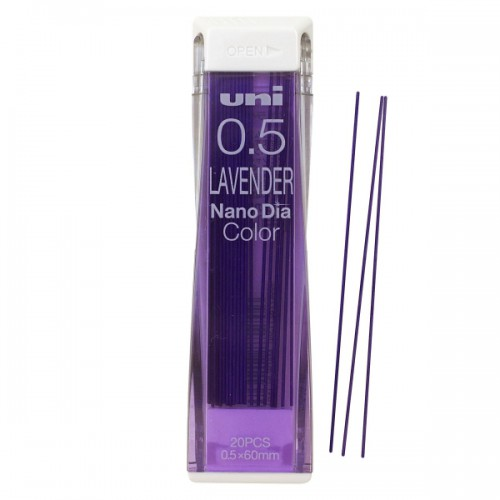 Uni NanoDia Color Lead - 0.5 mm - Lavender