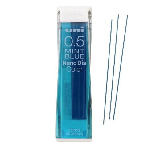 Uni NanoDia Color Lead - 0.5 mm - Mint Blue