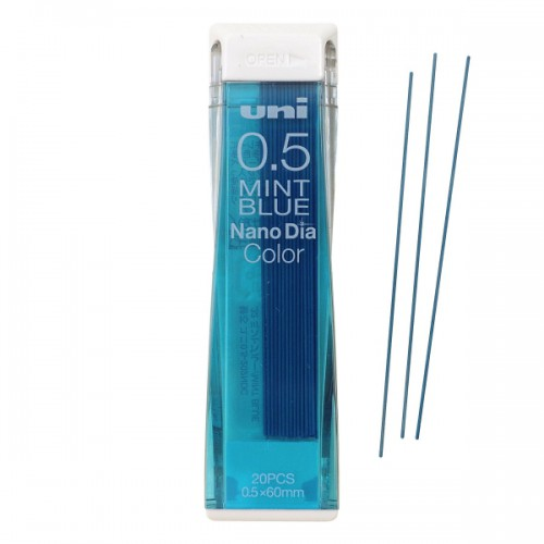 Uni NanoDia Color Lead - 0.5 mm - Mint Blue