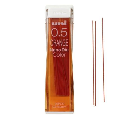 Uni NanoDia Color Lead - 0.5 mm - Orange