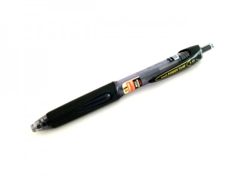 Uni Power Tank Ballpoint Pen - 1.0mm - Black Ink