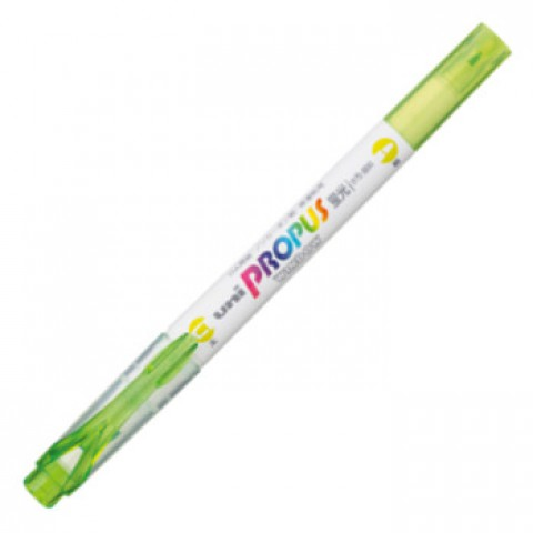 Uni Propus Window Soft Color Highlighter - Lime