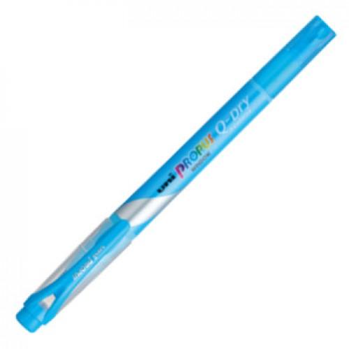 Uni Propus Window Quick Dry Highlighter - Sky Blue