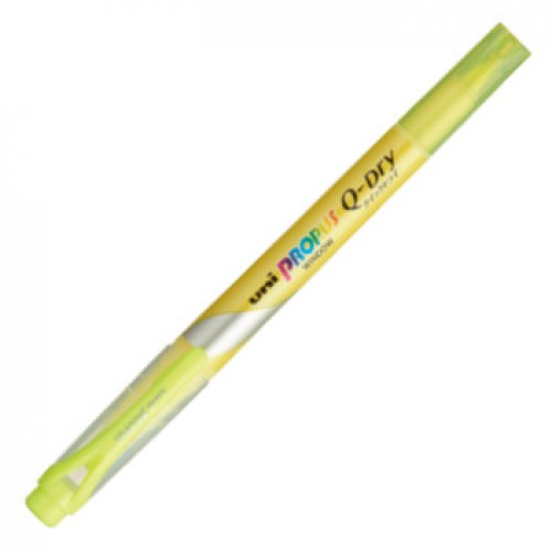 Uni Propus Window Quick Dry Highlighter - Yellow