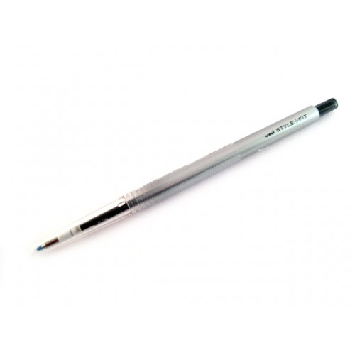 Uni Style Fit Single Color Gel Pen - 0.38mm - Black