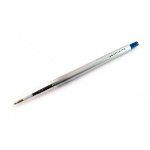 Uni Style Fit Single Color Gel Pen - 0.28mm - Blue Black