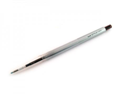 Uni Style Fit Single Color Gel Pen - 0.28mm - Brown Black