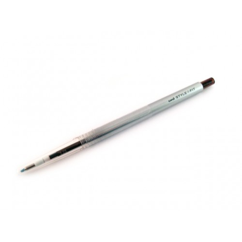 Uni Style Fit Single Color Gel Pen - 0.38mm - Brown Black