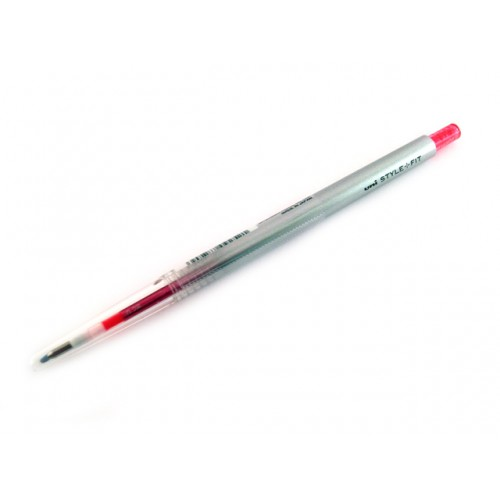 Uni Style Fit Single Color Gel Pen - 0.38mm - Baby Pink