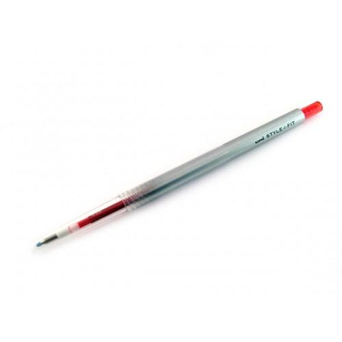 Uni Style Fit Single Color Gel Pen - 0.28mm - Red