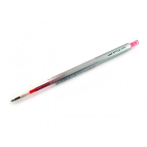 Uni Style Fit Single Color Gel Pen - 0.5mm - Rose Pink
