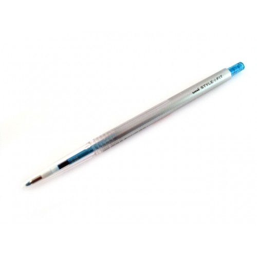 Uni Style Fit Single Color Gel Pen - 0.28mm - Sky Blue