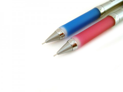 Uni Alpha Gel Slim  Mechanical Pencil 0.3mm - Royal Blue