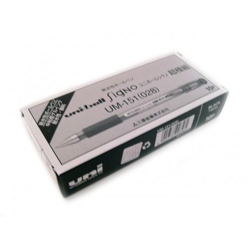 Uniball Signo DX 0.28mm  -  Black (Set of 10)