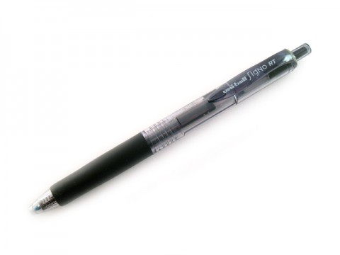 Uniball Signo RT 0.38mm Gel Pen  - Black