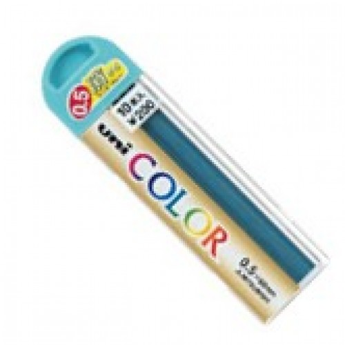 Uniball Color 0.5mm Pencil Lead - Mint Blue