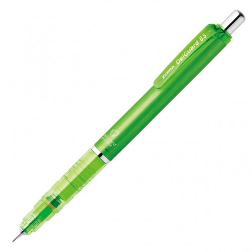 Zebra DelGuard Mechanical Pencil 0.5mm - Light Green