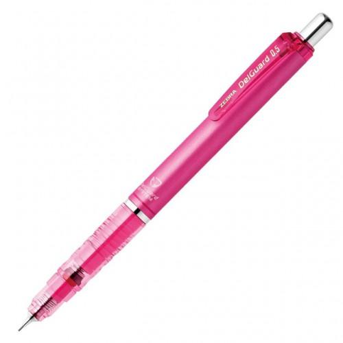 Zebra DelGuard Mechanical Pencil 0.5mm - Pink