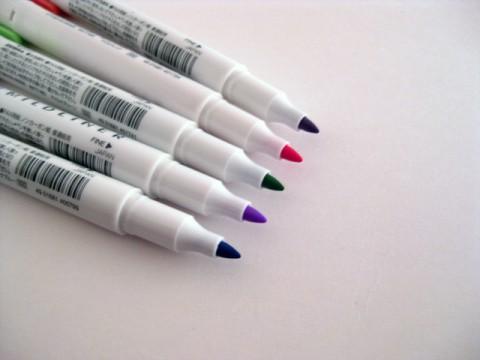 Zebra Mildliner Soft Color Twin Head Highlighter - Mild Violet