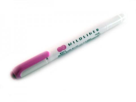 Zebra Mildliner Soft Color Twin Head Highlighter - Mild Magenta