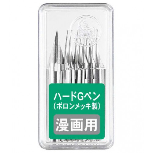 Zebra Comic Pen Hard G Nib - Pack of 10
