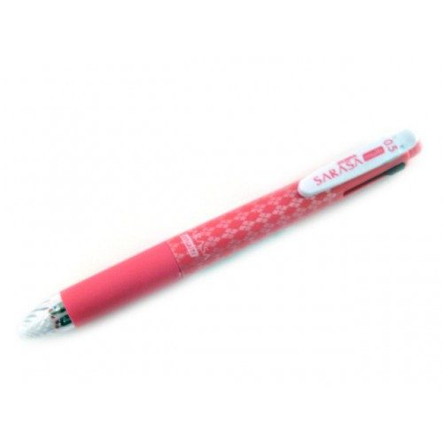 Zebra Sarasa Multi 5 Function Gel Ink Pen - 0.5mm - Pink Body