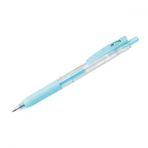 Zebra Sarasa Push Clip Gel Ink Pen 0.5mm - Milk Blue