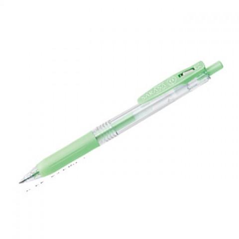 Zebra Sarasa Push Clip Gel Ink Pen 0.5mm - Milk Green