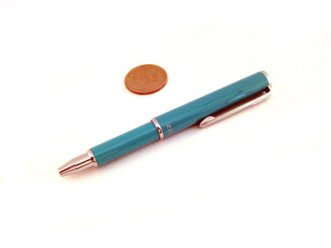 Zebra SL-F1 Mini Ballpoint Pen 0.7mm - Mint Green Body