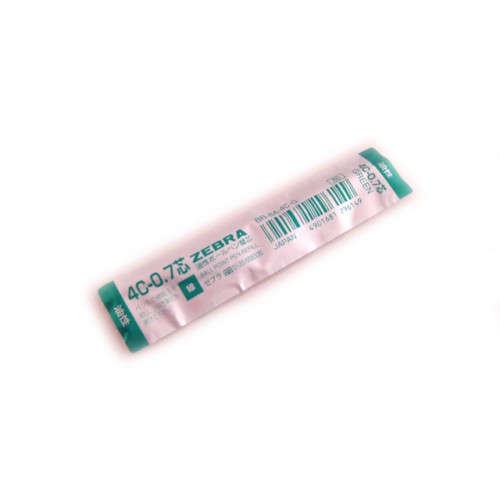 Zebra 4C 0.7mm Ballpoint Pen Refill - Green